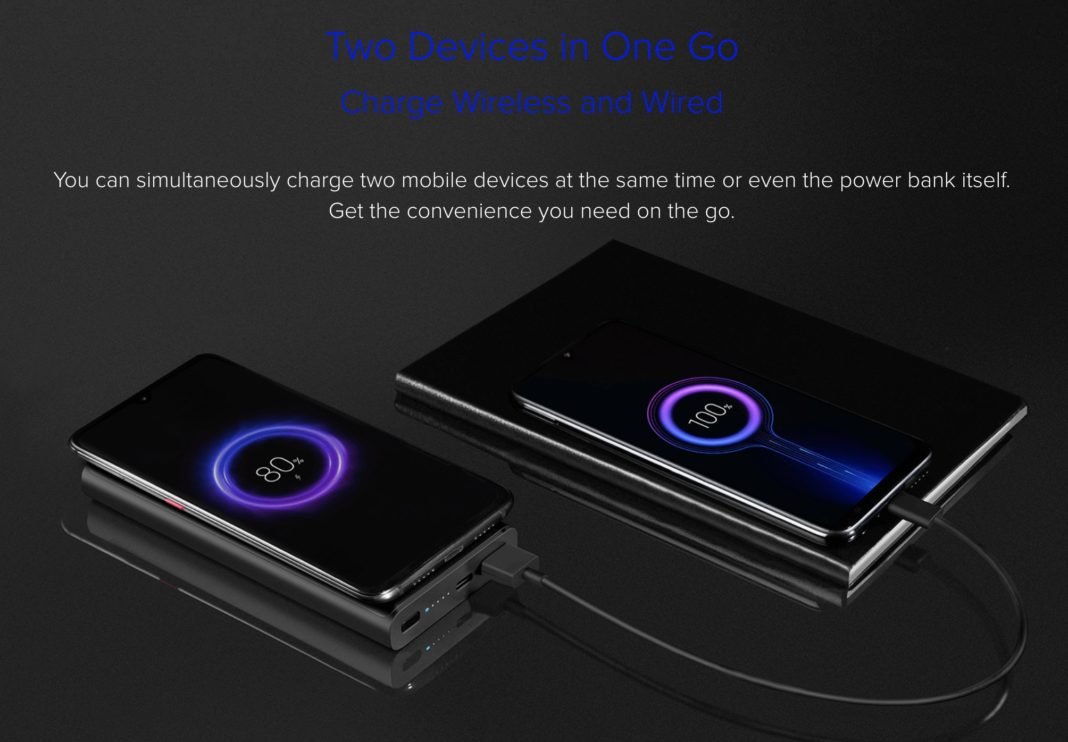 Xiaomi Mi Wireless Power Bank 10000