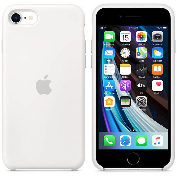 силиконовый чехол для iPhone SE (2-го поколения)