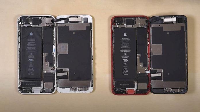 iPhone SE 2020 ремонтопригодность