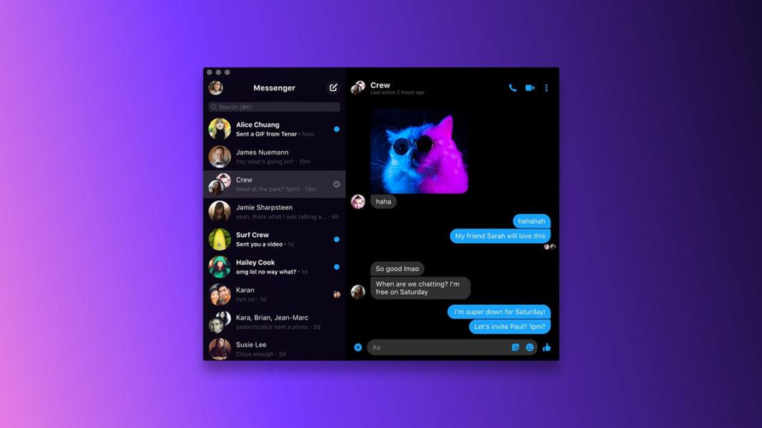 macOS Facebook Messenger