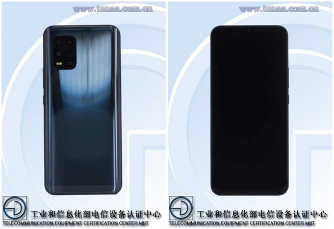 Xiaomi Mi 10 Youth Edition TENAA