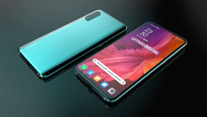 Смартфон Xiaomi с подэкранной фронтальной камерой