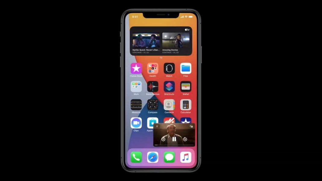 iOS 14 Картинка в картинке