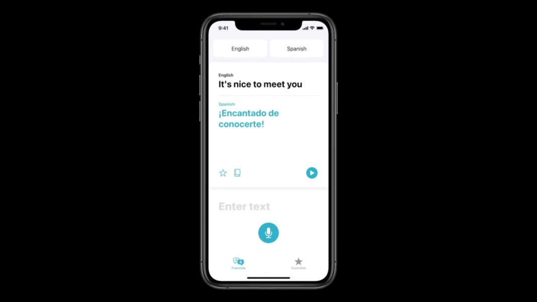 iOS 14 переводчик