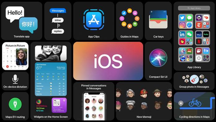 iOS 14 WWDC 2020
