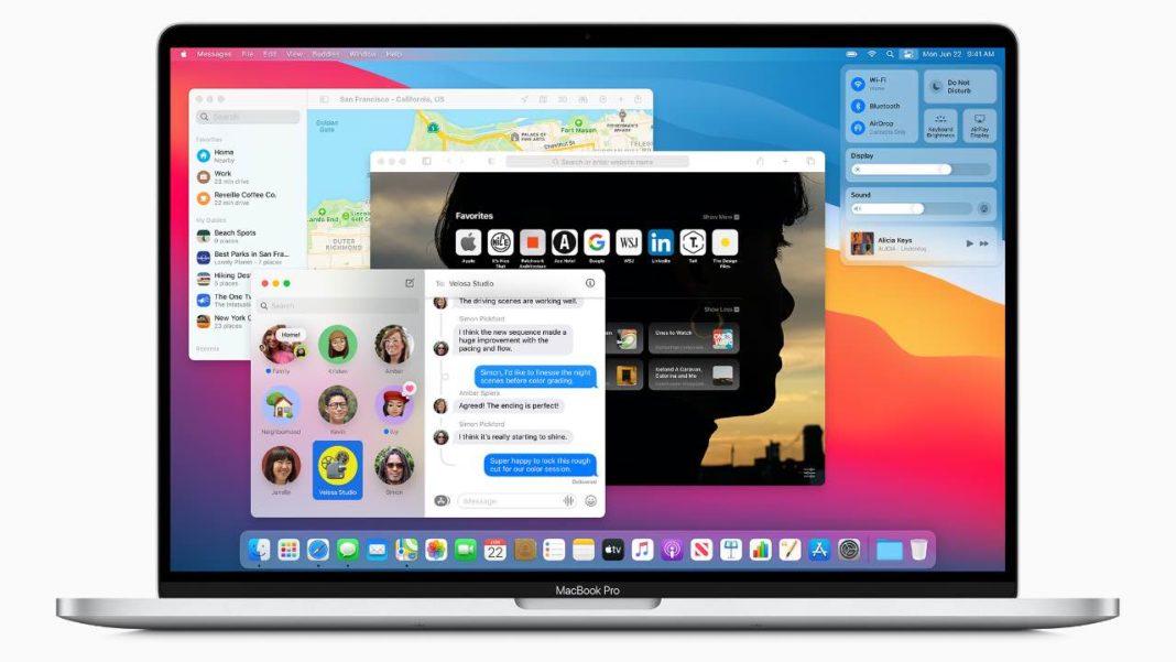 Конфиденциальность в macOS Big Sur