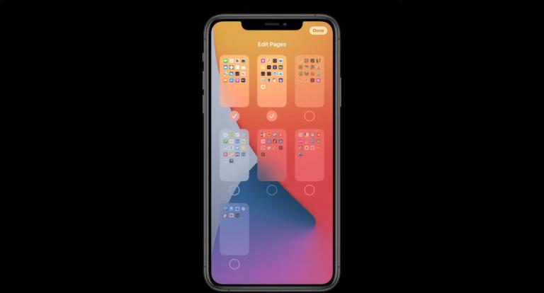 Скрытие приложения с главного экрана iOS 14