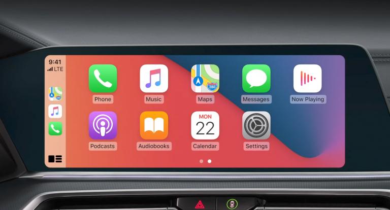 Новые обои в CarPlay iOS 14