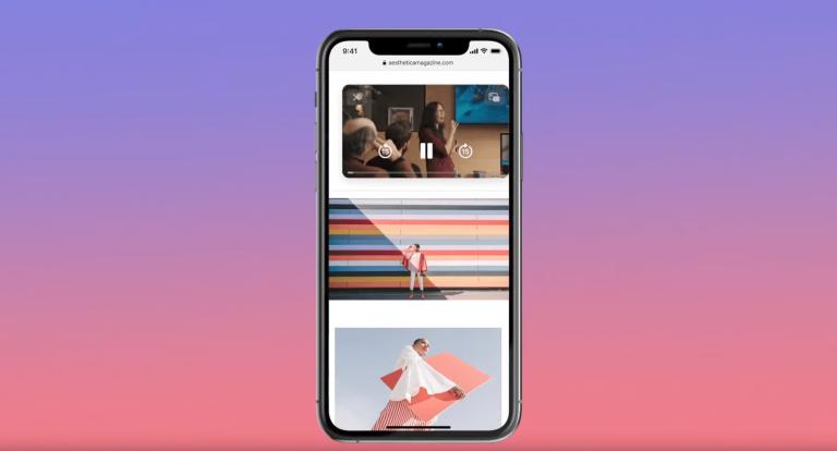 Картинка в картинке iOS 14
