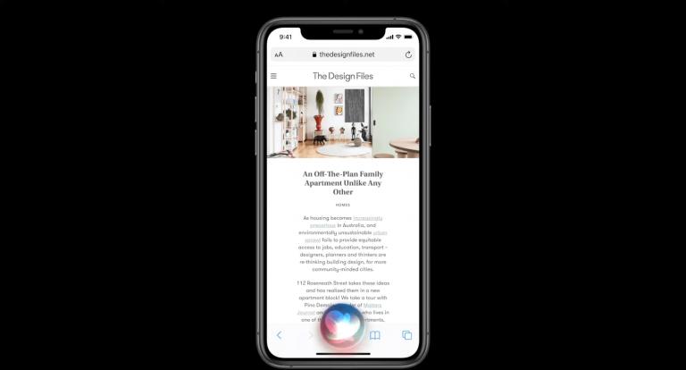 Уменьшенная Siri iOS 14