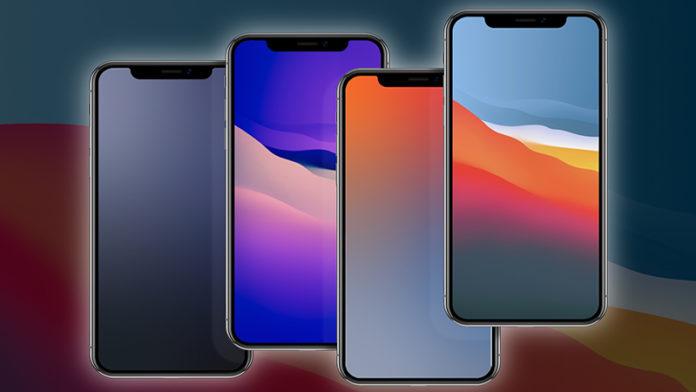 Модифицированные обои iOS 14 и macOS Big Sur для iPhone