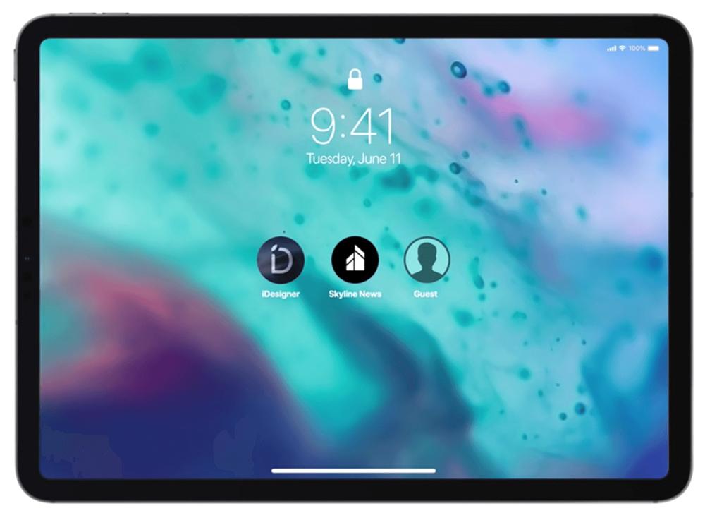 iPadOS 14 многопользовательский режим