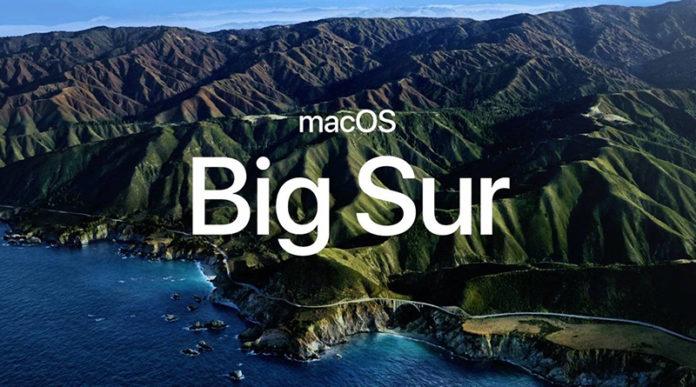 MacOS Big Sur Apple