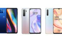 Motorola Moto G 5G Plus vs Huawei P40 Lite 5G vs Oppo Find X2 Lite