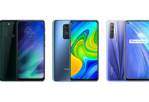 Motorola One Fusion vs Redmi Note 9 vs Realme 6