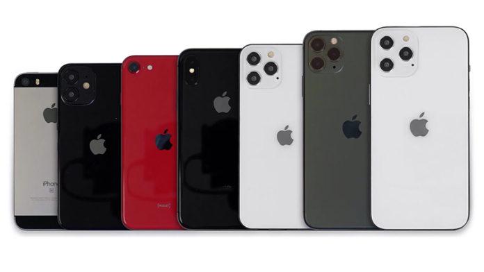iPhone 4 до iPhone 12