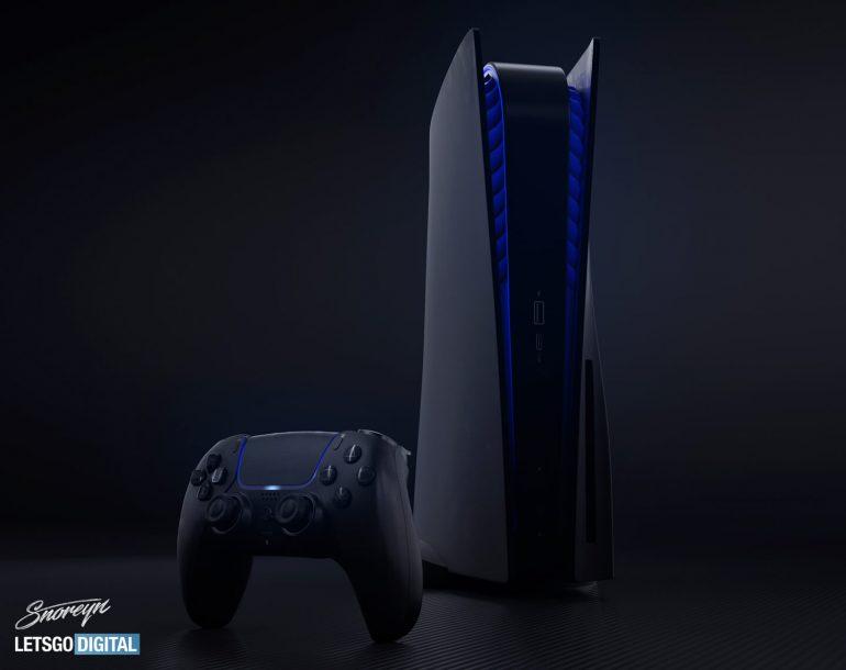 Sony PlayStation 5 в черном цвете