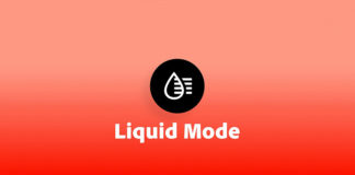 Adobe Liquid Mode