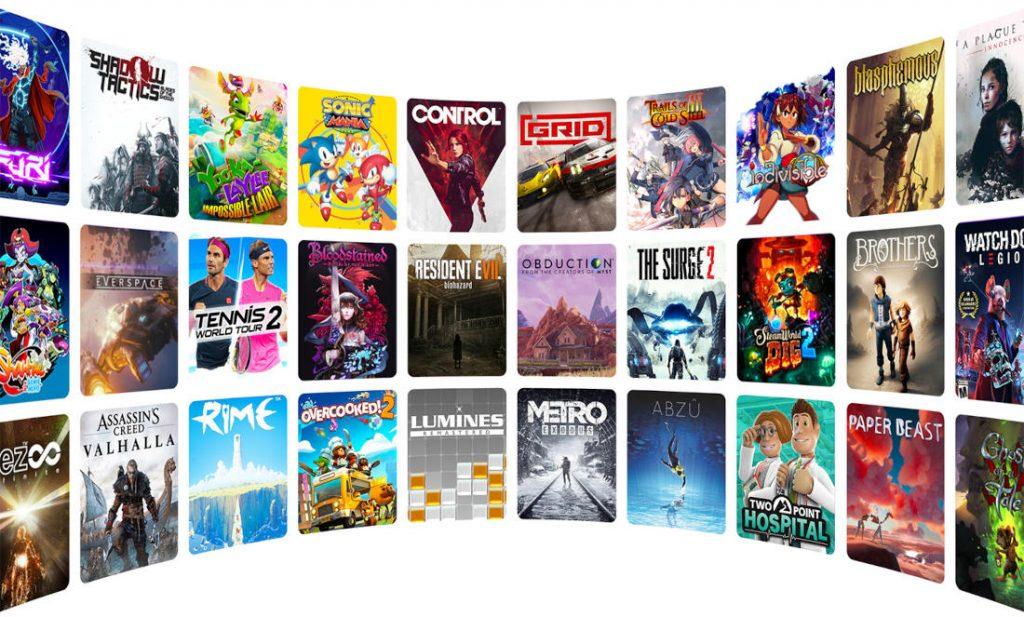 Amazon LUNA Библиотека игр
