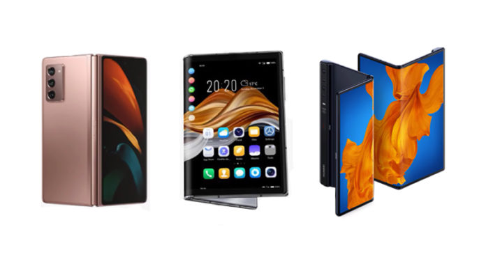 Royole FlexPai 2 vs Samsung Galaxy Z Fold 2 vs Huawei Mate Xs