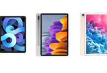 iPad Air 4 vs Samsung Galaxy Tab S7 vs Huawei MatePad 10.8