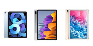 iPad Air 4 vs Samsung Galaxy Tab S7 vs Huawei MatePad 10.8