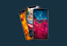 Художественные абстрактные обои iPhone