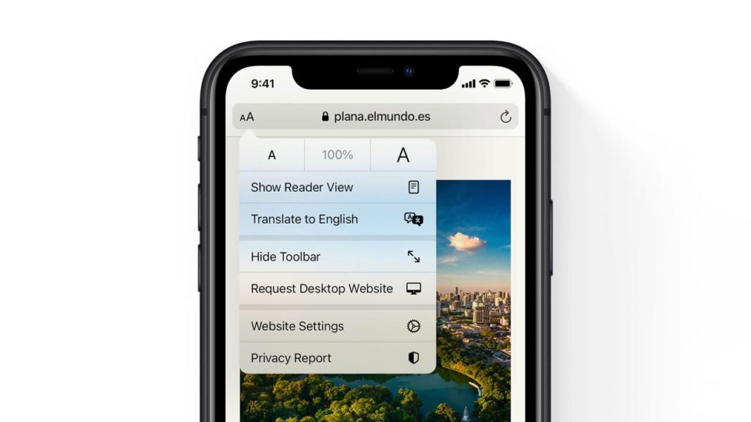 iOS 14 Safari