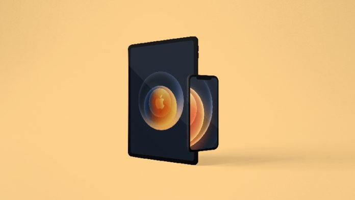обои презентации iPhone 12
