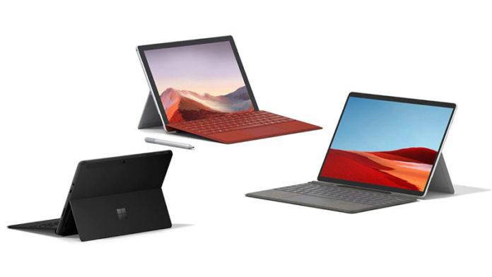Microsoft Surface Laptop Go и Surface Pro X