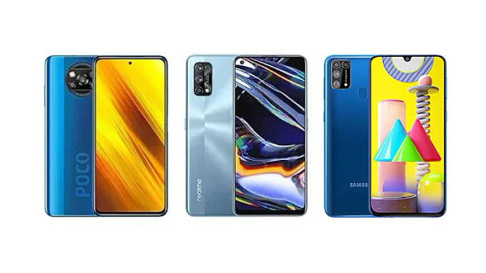 POCO X3 vs Realme 7 Pro vs Samsung Galaxy M31 Prime