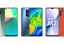 Realme 7i vs Redmi Note 9 vs POCO M2