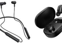 Redmi SonicBass и Redmi EarBuds 2C