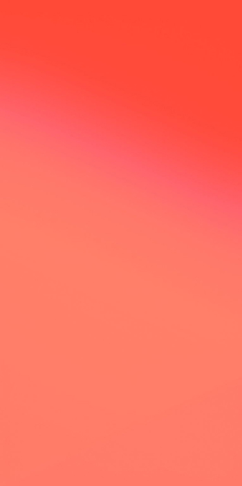 Розово, оранжево, до кроваво оранжевый градиент для iPhone