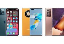 iPhone 12 Pro Max vs Huawei Mate 40 Pro vs Samsung Galaxy Note 20 Ultra
