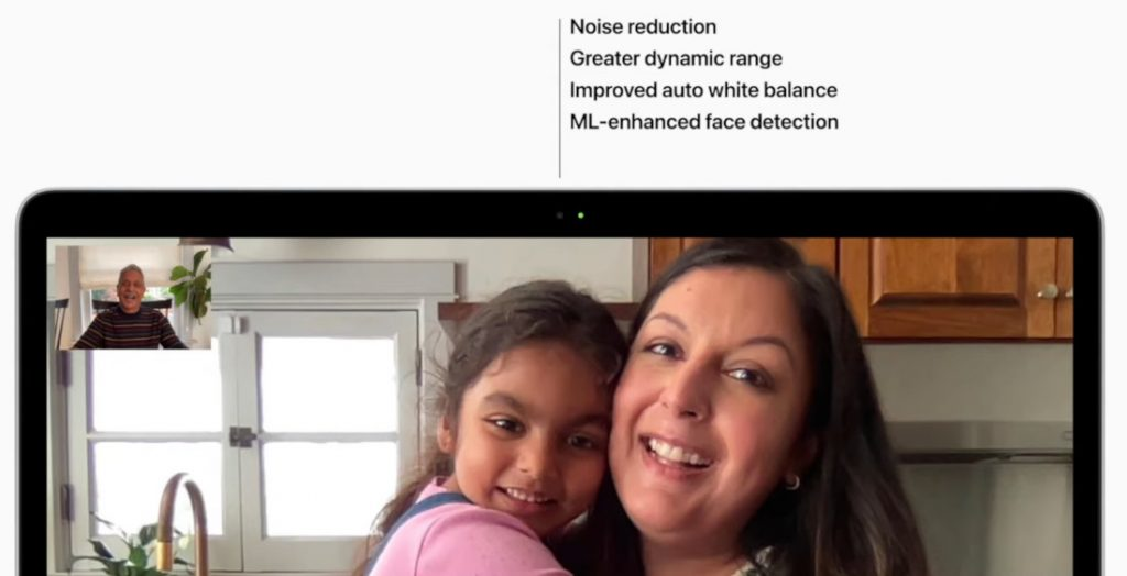 MacBook Air M1 дисплей