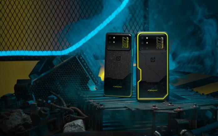 Дизайн OnePlus 8T Cyberpunk 2077 Limited Edition