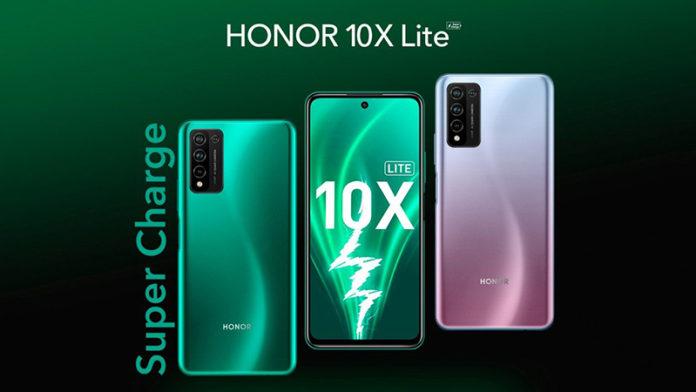 Honor 10X Lite