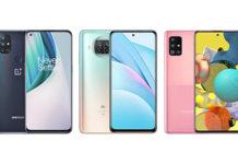 OnePlus Nord N10 vs Xiaomi Mi 10T Lite vs Samsung Galaxy A51 5G