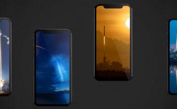 обои SpaceX для iPhone