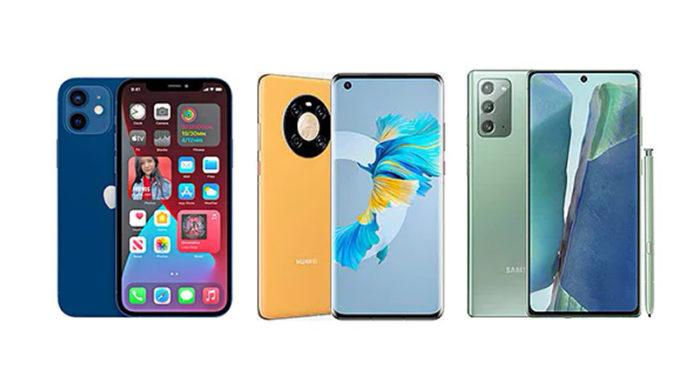 iPhone 12 vs Huawei Mate 40 vs Samsung Galaxy Note 20
