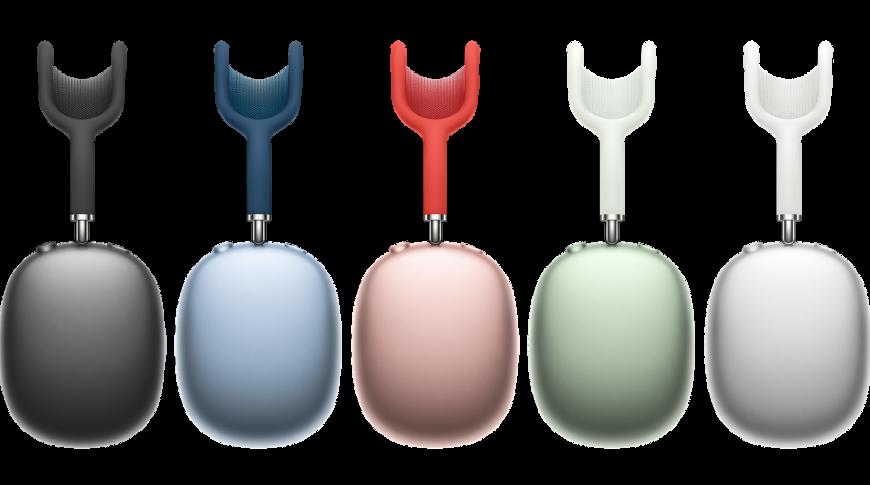 Цвета Apple AirPods Max