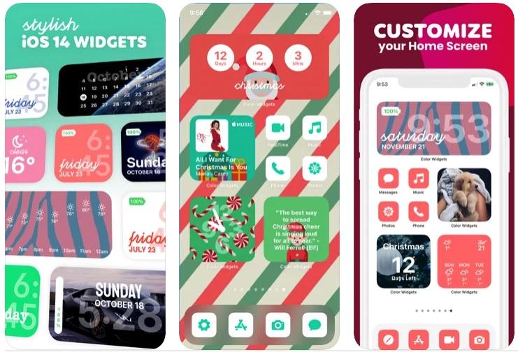 Color Widgets приложение
