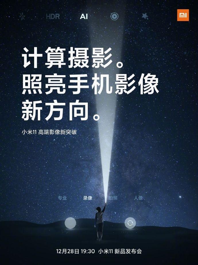 Xiaomi Mi 11 технология вычислительной фотографии