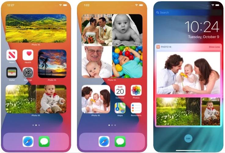 Приложение Photo Widgets