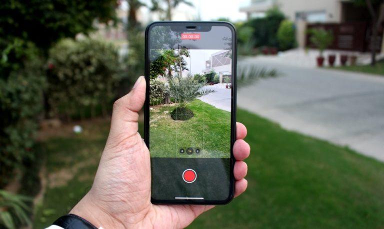iPhone 11 режим видео