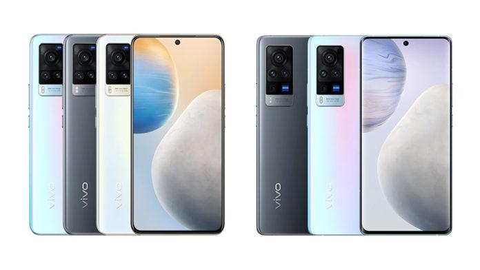 Серия смартфонов Vivo X60 и X60 Pro