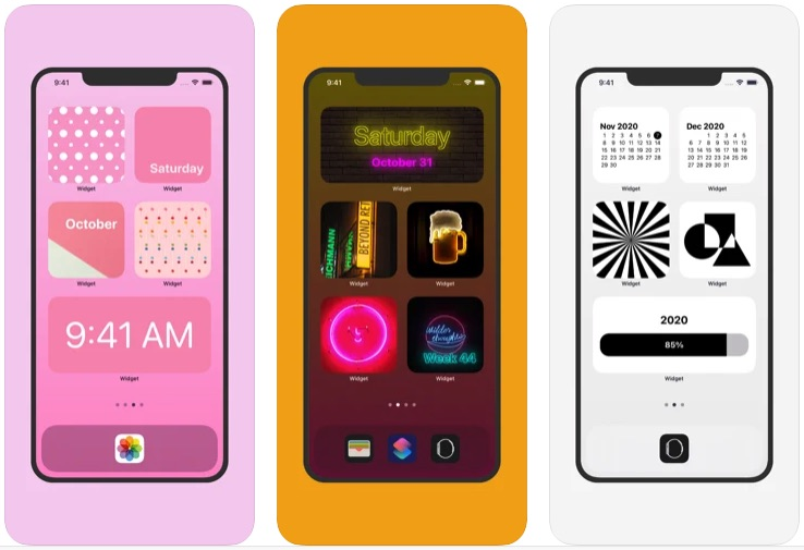 Приложение Widget – Add to Home Screen