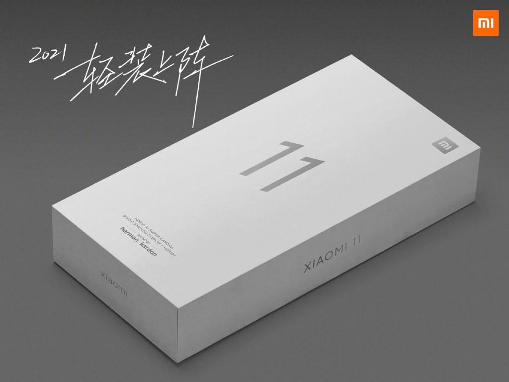 Xiaomi Mi 11 упаковка