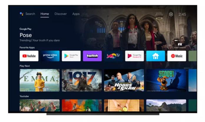 Обновление Android TV
